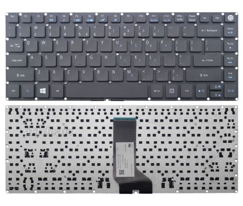 Sony Vaio Keyboard 55010S001U1-203-G V120078A US 148353511 US Black