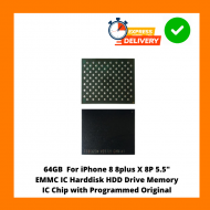 """64GB For iPhone 8 8plus X 8P 5.5"""" EMMC IC Harddisk HDD Drive Memory IC Chip with Programmed Original"""