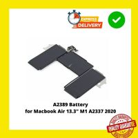 """A2389 Battery for Macbook Air 13.3"""" M1 A2337 2020"""