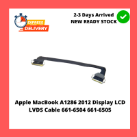 Apple MacBook A1286 2012 Display LCD LVDS Cable 661-6504 661-6505