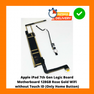 Apple iPad A2197 7th Gen Logic Board Motherboard 128GB Rose Gold WiFi without Touch ID (Only Home Button)