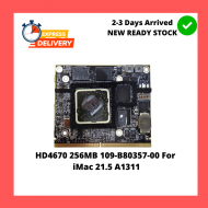 HD4670 256MB 109-B80357-00 For iMac 21.5 A1311 HD 4670 Vga Video Graphics Card 109-B80357-00