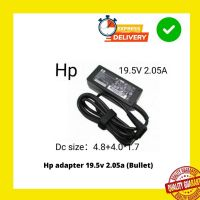 HP 40W 19.5V 2.05A Bullet Pin Laptop AC Adapter Charger