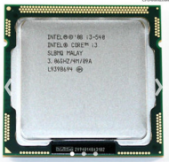Intel® Core™ i3-540 Processor 4M Cache, 3.06 GHz
