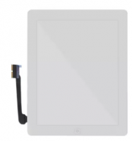 LCD Touch Screen Digitizer Without Home Button & Adhesive for iPad 3/4 White