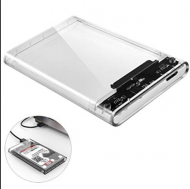 HDD CASE USB 3.0 TRANSPARENT