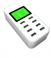 Smart USB Charger with LCD Display