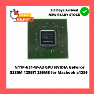 N11P-GE1-W-A3 GPU NVIDIA GeForce G330M 128BIT 256MB FOR MACBOOK PRO