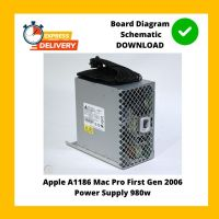 Apple A1186 Mac Pro First Gen 2006 Power Supply 980w Dps-980ab a 614-0383 Tested