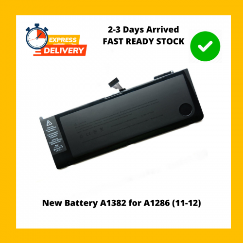New Battery A1382 for A1286 (11-12)
