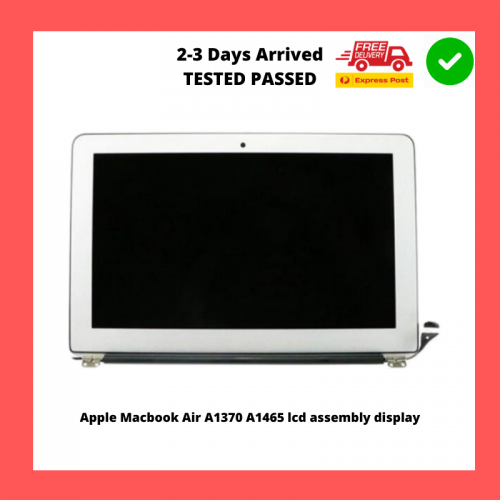 Apple Macbook Air A1370 A1465 lcd assembly display screen panel