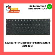 "Keyboard for MacBook 12""Retina A1534 2015 (US)"