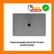 ( 2nd )Space Grey Retina LCD Screen Display Panel assembly for Apple Macbook Pro 15 inch A1707 2016 2017 - Webcam Faulty