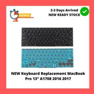 """NEW Keyboard Replacement MacBook Pro 13"""" A1708 2016 2017"""