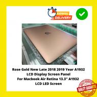 """Rose Gold New Late 2018 2019 Year A1932 LCD Display Screen Panel For Macbook Air Retina 13.3"""" A1932 LCD LED Screen"""