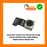 Back Rear Camera For iPhone 5S 5 6 Big Camera Module Flex Cable Ribbon Replacement Repair Part