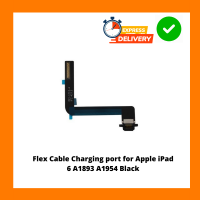 Flex Cable Charging port for Apple iPad 6 A1893 A1954 Black