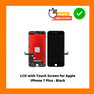 LCD with Touch Screen for Apple iPhone 7 Plus - Black