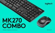Logitech Wireless Keyboard & Mouse Combo MK270