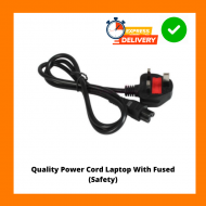 Power Cord Laptop With FUSED