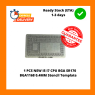 1 PCS NEW I5 I7 CPU BGA SR170 BGA1168 0.4MM Stencil Template