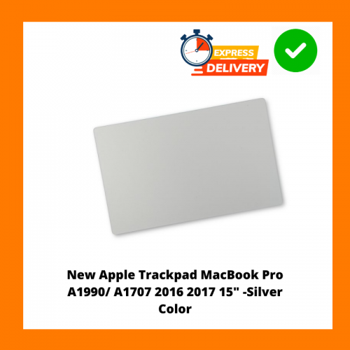 """New Apple Trackpad MacBook Pro A1990/ A1707 2016 2017 15"""" -Silver Color"""